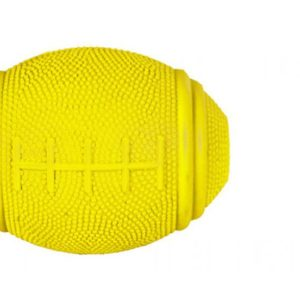 trixie yellow treat ball for dogs