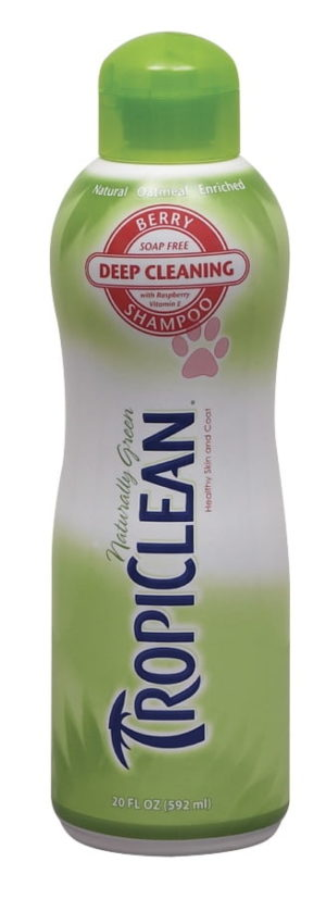 Previous product Next product Tropiclean Shampoo Berry Deep Clean