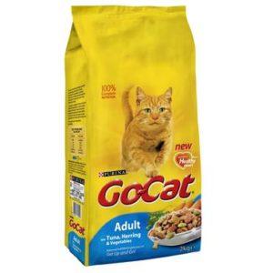 Go Cat Tuna & Herring & Veg adult cat food