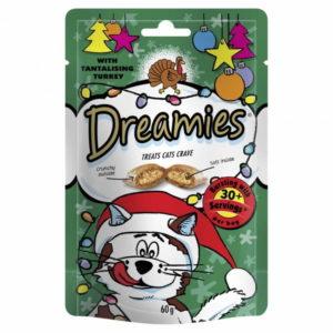 Whiskas Dreamies Turkey Cat Pouches