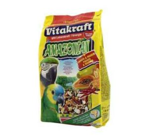 Previous product Next product Vitakraft Amazonian Parrot food 750gm