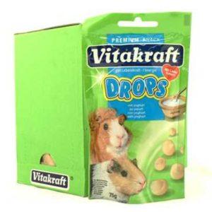 Previous product Next product VITAKRAFT GUINEA PIG YOGHURT DROPS