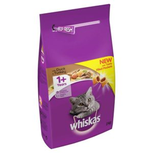 Whiskas Complete Dry Cat Food Duck & Turkey Petworld Ireland