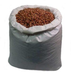 wild bird peanuts sack