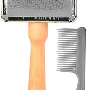 Trixie Soft Brush With Cleaner 13 x 6 cm