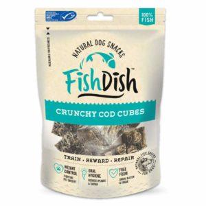 fish dish crunchy cod cubes