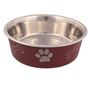 Previous product Next product Stainless Steel bowl with coloured exterior 14cm