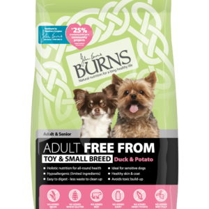 Free From – Toy & Small Breed – Duck & Potato – 2kg