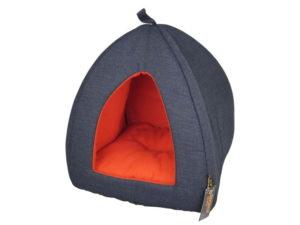 Tommy blue cat igloo 2