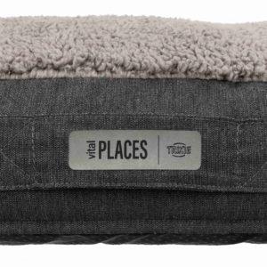 Bendson vital dog cushion grey