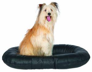 Samoa Sky artificial leather dog cushion
