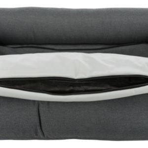 Trixie Pulito vital dog bed square grey inside
