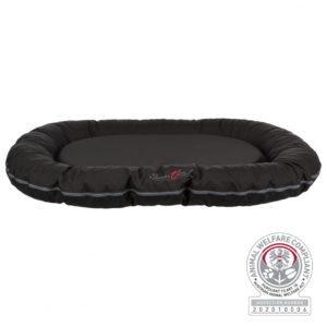 Trixie Samoa Vital cushion oval dog bed black