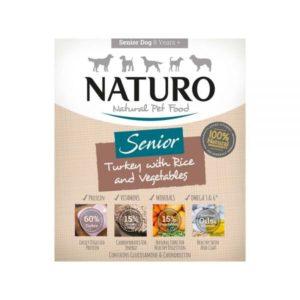 naturo senior turkey with rice and veg