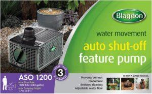 Blagdon 1200 Auto Shut-Off Feature Pump