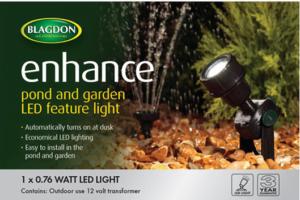 Blagdon Enhance Pond Garden Feature Light