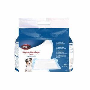 50 trixie puppy training pads 60x60