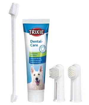 trixie dental hygiene set for dogs