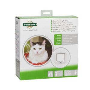 Manual-Locking Cat Flap by Petsafe