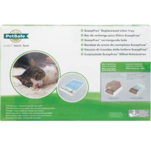 Replacement Blue Crystal Cat Litter Tray 3 Pack