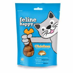 feline happy chicken cat treats