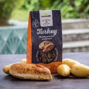 go native essentials turkey treats 100g
