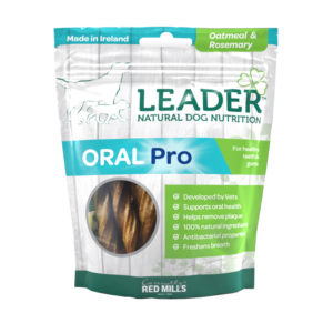 Leader Oral Pro Dental Sticks – Oatmeal and Rosemary Flavour
