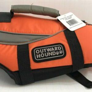 orange dog life jacket