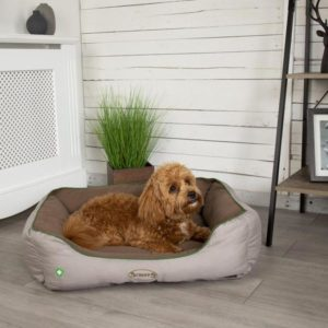 Insect Shield® Soft Dog Bed - Taupe
