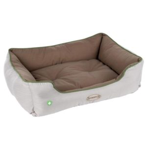 Insect Shield® Soft Walled Dog Bed - Taupe