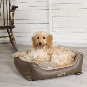 Scruffs Chateau Orthopedic Dog Bed brown