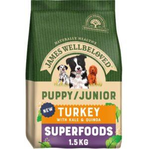 james well beloved puppy superfood