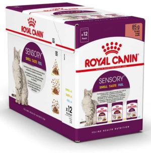 royal canin sensory variety pack in gravy.