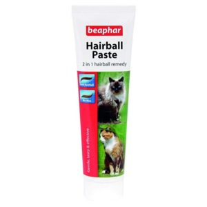 Beaphar Dual Action Cat Hairball Remedy Paste.
