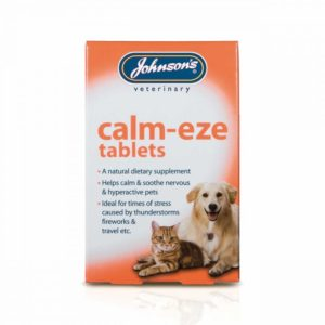 Johnsons calm eze tablets for cats and dogs