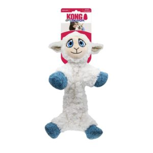 Kong Low Stuff Flopzie Lamb – Medium