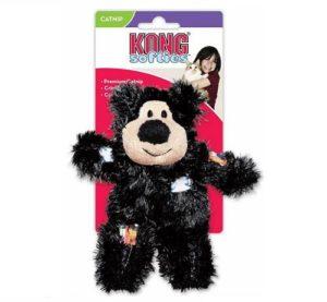 Kong Softies Catnip Bear Black