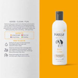 dog shampoo by furrish