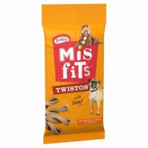 frolic mis fits dog treats