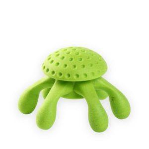 kiwi octopus dog toy