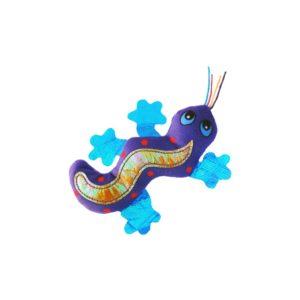 kong gecko catnip toy