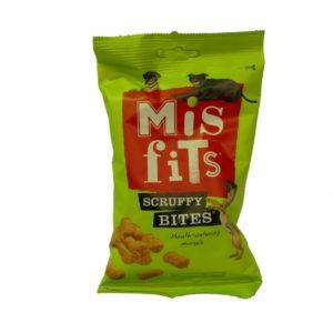 misfits scruffy bites dog treats.