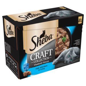 sheba craft selection gravy fish
