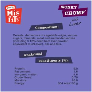 wonky chomp info