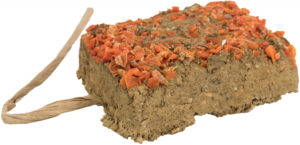 Clay Stone with carrot