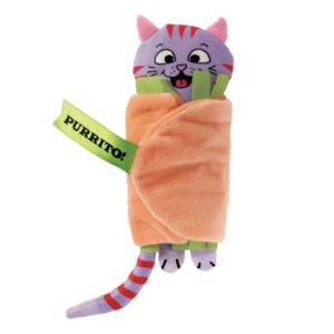 Pull-A-Partz™ Purrito cat nip toy