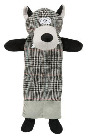 Wolf Plush Dog Toy