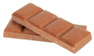 dog chocolate bar