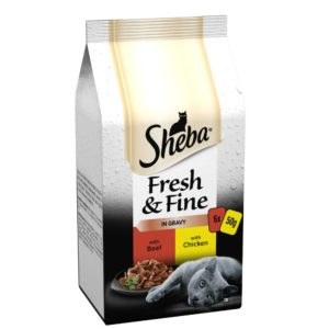 sheba fresh and fine beef and chicken